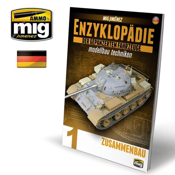 ENCYCLOPEDIA OF ARMOUR MODELLING TECHNIQUES VOL. 1 - CONSTRUCTION GERMAN