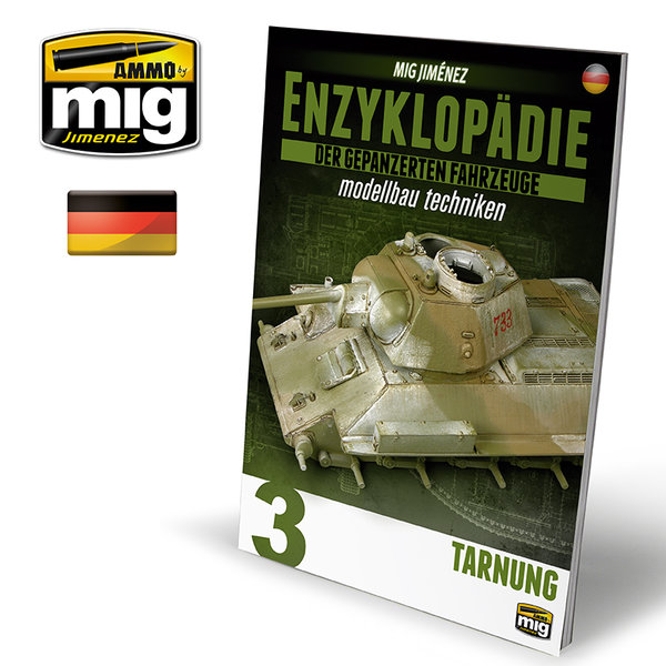 ENCYCLOPEDIA OF ARMOUR MODELLING TECHNIQUES VOL. 3 - CAMOUFLAGE GERMAN