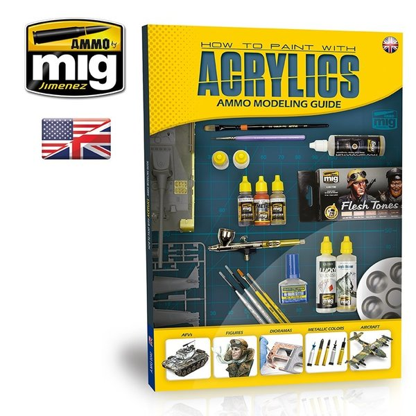 MODELLING GUIDE: HOW TO PAINT WITH ACRYLICS ENGLISH